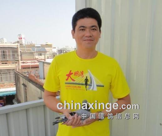 台湾名家:6.8万羽总冠军获得者陈建昌