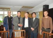 国际鸽联主席德国鸽协主席拜访上海市鸽会