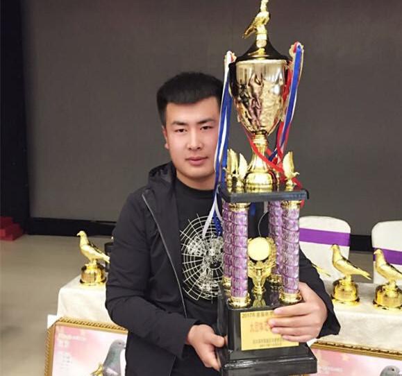 记哈尔滨拍卖会 那次比赛鸽子得了奖