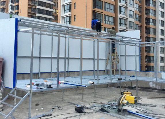 浩大工程 新鸽棚开始动工!