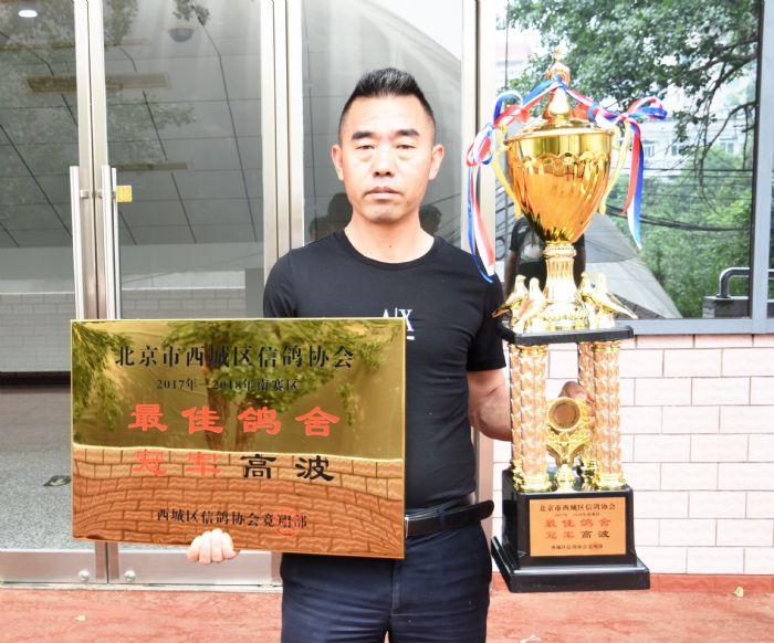 北京西城鸽会跨年度最佳鸽舍鸽手公布
