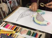 丹青妙笔绘鸽画:童年印象中的彩色观赏鸽