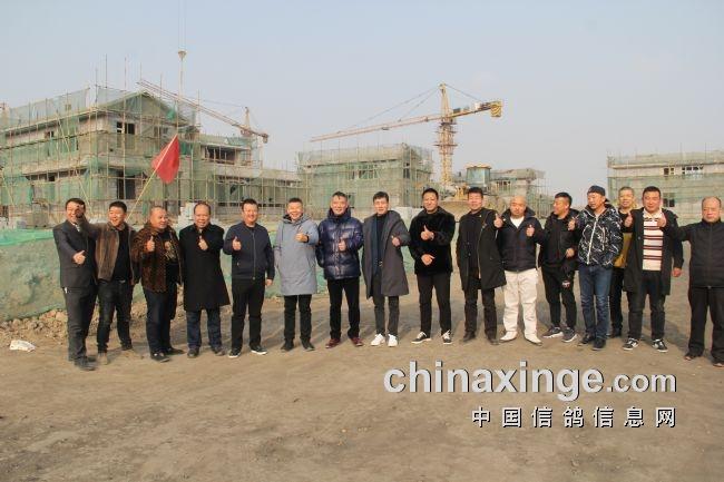 鸽界精英参观宁夏龙冠信鸽文化产业园(图)