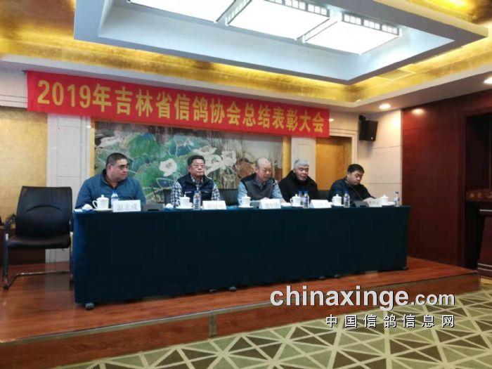 吉林省信鸽协会举行2019年总结表彰会