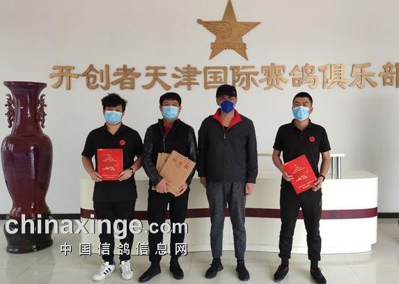 天津开创者一岁鸽售环12585枚 再创新高