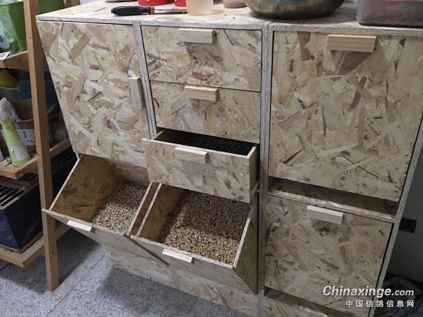 手工打造:仿了一款鸽粮柜