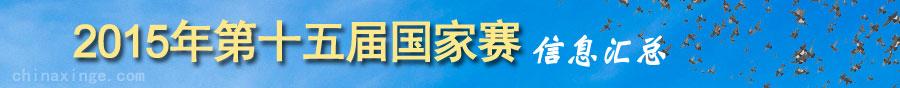 2015年第十五届中国国家赛